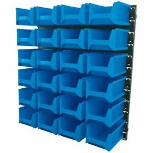 DRAPER 06797 - 24 Bin Wall Storage Unit, Large Bins