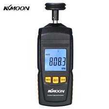 Handheld Contact Lcd Digital Tachometer Motor Speed Tester Rpm Tach Meter K9z1