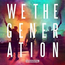 RUDIMENTAL WE THE GENERATION CD ALBUM (October 2nd, 2015)