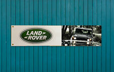 Car enthusiasts PVC Garage banner - Land Rover 'Defender'