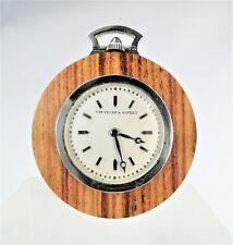 VAN CLEEF & ARPELS RARISSIME MONTRE DE SMOKING MODERNISTE Ca 1930 ART DECO WATCH