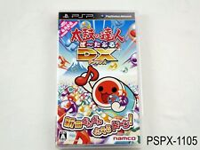 Taiko no Tatsujin Portable DX PSP Japanese Import Drum Master Deluxe US Seller
