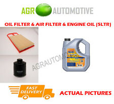 PETROL OIL AIR FILTER + LL 5W30 OIL FOR VOLKSWAGEN NEW BEETLE 1.4 75BHP 2001-10