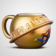 Superman - DAILY PLANETA 3d moldeadas Taza de cerámica - NUEVO