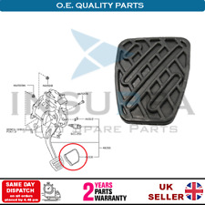CLUTCH OR BRAKE RUBBER PEDAL COVER FOR NISSAN QASHQAI MANUAL 46531JD00A