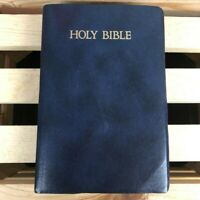 Nelson 162B Holy Bible KJV Blue 7x5 Words of Christ in Red King James Version
