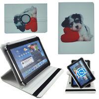 Hülle für Odys NoteTab PRO LTE Schutz 10 Zoll Tablet Tasche Hund Herz