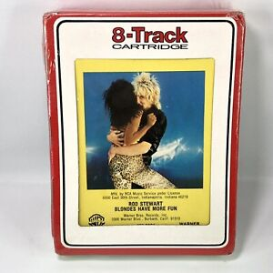 Rod Stewart Blondes Have More Fun 8 TRACK - Brand New Sealed