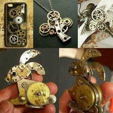50g Watch Parts Steampunk Jewellery Altered Art Crafts Cyberpunk Cogs Gears