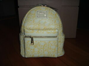 LOUNGEFLY DISNEY WINNIE THE POOH EMBOSSED MINI BACKPACK~ WITH TAGS~BRAND NEW~