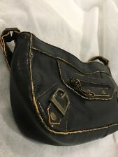 Lovely Brown Distressed Small Handbag