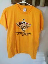 2006 MLB ALL-STAR GAME PITTSBURGH, PA T SHIRT Black Gold Youth XL NWOT