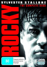 ROCKY THE UNDISPUTED COLLECTION 6 DISC BOX SET 1+ 2 +3 +4 +5 + Balboa R4