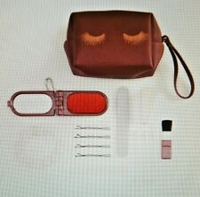 NWT LC LAUREN CONRAD BEAUTY & BLUNDERS KIT org. $30 TRAVEL BAG GREAT GIFT
