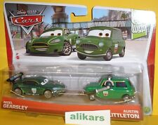 NIGEL GEARSLEY & AUSTIN LITTLETON Pack 2 Mattel Disney Cars 1:55 métal Diecast
