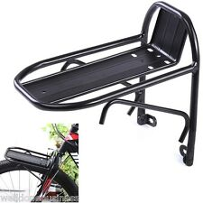 Aluminum Alloy Lightweight 10KG Capacity Bike Front Shelf Rack Goods Carrier