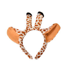 Giraffe Animal Set Zoo Farm Jungle Safari Headband Ears Dress Sjremjhñ IN