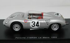 1/43 Spark 1959 Porsche 718RSK LeMans #34 E. Barth W. Seidel S4678