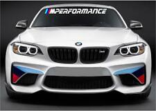 BMW M Performance Windshield Decal windows sticker graphic Motorsport