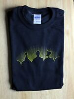 Mystery Science Theater 3000 MST3K  Solid Black Short Sleeve Graphic Tee T-Shirt