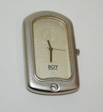 Rare Men's Unisex Boy London Original Peace not War Dog Tag Watch New NOS 1996