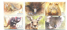 Australia-Native Animals set of 6 Jan 2015 mnh