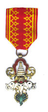 LAOS ORDER OF THE MILLION ELEPHANTS OFFICER, OLD SILVER GILT (CAMBODIA & LAOS)