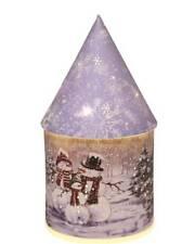 Straits Light up Christmas Cone Houses, Festive Designs - Snowmen