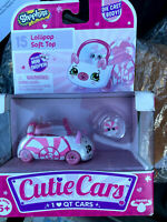 Shopkins Cutie Car #15 Lollipop Soft Top Car Die Cast - NEW