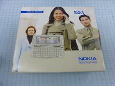 Original Nokia 9300 plata! como nuevo! sin bloqueo SIM! OVP! QWERTZ! rar!