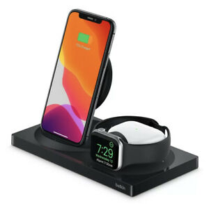 Belkin Boost Charge 3-in-1 Wireless Charger For Apple iPhone + Watch + Air Pods