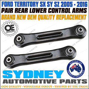 PAIR FORD TERRITORY SX SY SZ RWD AWD REAR LOWER CONTROL ARMS WITH BUSHES LH&RH