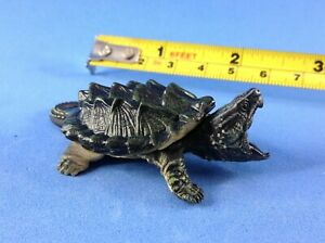 Takara Tomy Yujin Model Alligator Snapping Turtle Tortoise Figure Cake Topper 80