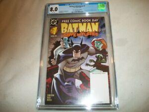 BATMAN ADVENTURES #1 (FIRST HARLEY QUINN!) CGC 8.0 VF