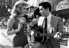 Vintage Wall Art Print of Ann Margret & Elvis Presley Movie Legends Re-print A4