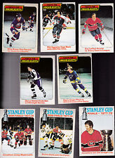 1978 OPC LOT of 8 HIGHLIGHTS and STANLEY CUP cards NM o-pee-chee BOSSY LAFLEUR