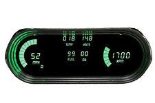 Chevy Nova DIGITAL DASH PANEL 1963-1965 Gauges  Intellitronix Green LEDs LS SWAP