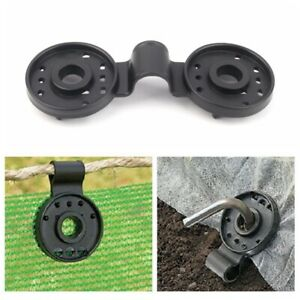 x20 Instant Grommet Clamps Strong Polyclips Tarp Hanging Hardware Privacy Screen