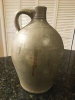 Pennsylvania Antique Handmade Thrown JUG Salt-glaze Stoneware Beehive 1 Gallon