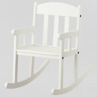 Ikea SUNDVIK  Rocking-chair, white  802.017.40 *Brand New*