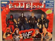 WWF Jakks Badd Blood Kane Undertaker Steve Austin Paul Bearer Variant MIB C7/8