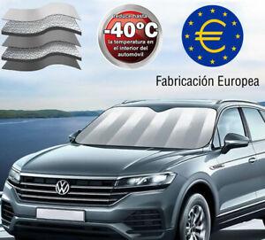 Parasol coche delantero aluminio ultra reflector doble capa fabricación EUROPA