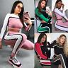 Women 2Pcs Tracksuit Hoodies Sweatshirt Pants Sets Ladies Sport Wear Casual Suit