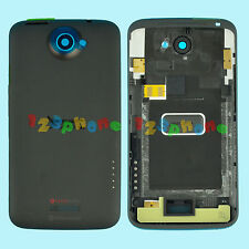 REAR BACK COVER CASE BATTERY DOOR HOUSING FOR HTC ONE X S720e G23 BLACK
