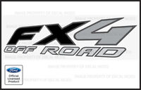set of 2: 1997 Ford F250 FX4 OffRoad Decals Stickers - FB Super Duty Off Road