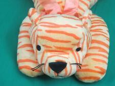 TY 1996 PILLOW PALS  ORANGE TIGER PURR MWOT LAYING DOWN PLUSH STUFFED ANIMAL