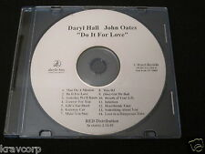 HALL & OATES 'DO IT FOR LOVE' 2003 LIMITED EDITION CD