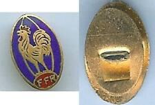 Sport Rugby - Fédération française rugby émail ancien boutonnière