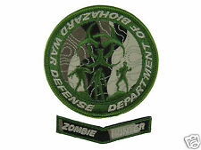 ill Gear v7 Department of Biohazard War Defense Patch ZOMBIE TOPO HOOK & LOOP