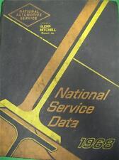 1968 NATIONAL AUTOMOTIVE SERVICE AMERICAN CAR AUTO REPAIR MANUAL GUIDE GLENN MIT